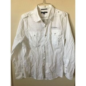 Twentyone Men Striped Long Sleeve Fitted Shirt